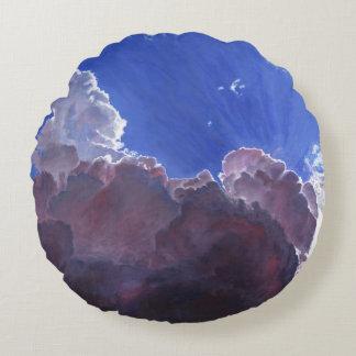 Relentless light 2012 round pillow