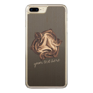 Relentless Recurrence | iPhone Samsung Wood Carved iPhone 7 Plus Case