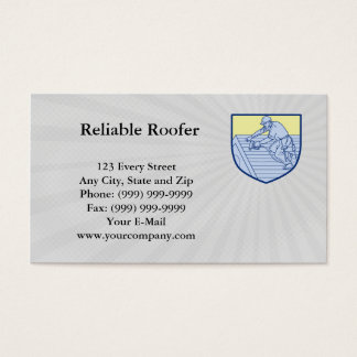 Reliable Roofer Business card