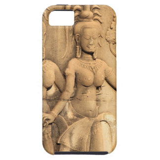 Relief Buddhist sculpture Angkor Wat temple iPhone 5 Case