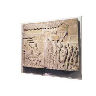 Relief depicting Dionysus at the home of Gallery Wrapped Canvas