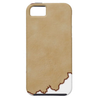 Relief Map of Indiana 2 iPhone 5 Case