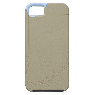 Relief Map of Indiana iPhone 5 Covers