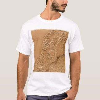Relief map of Utah T-Shirt