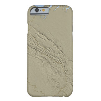 Relief Map of Virginia 2 Barely There iPhone 6 Case