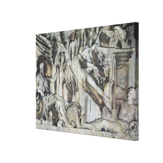 Relief of the Apotheosis of Emperor Antoninus Stretched Canvas Prints