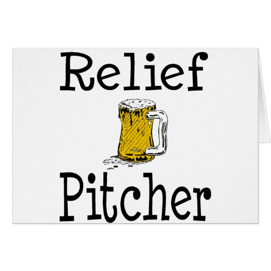 Relief Pitcher Card