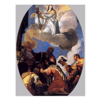 Religio and Fides (Religion and Faith) by Paolo Postcard