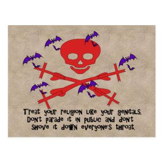 Religion Advice Postcard