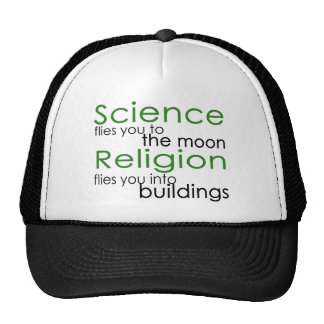 Religion and Science Trucker Hat