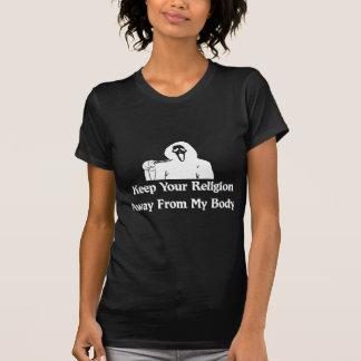 Religion Away From My Body Tshirt