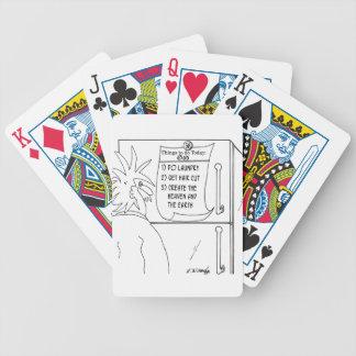 Religion Cartoon 7290 Poker Deck