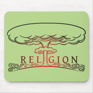 Religion Explosion Mouse Pad