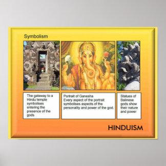 Religion, hindouisme, symbolisme poster
