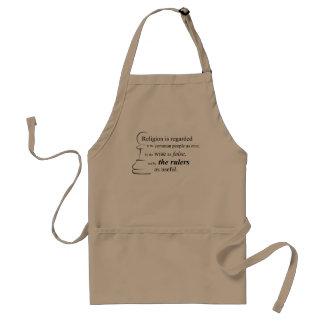 Religion is useful standard apron