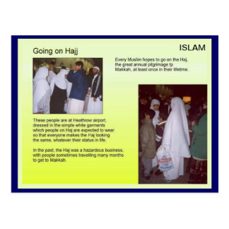 Religion, Islam, Haj Postcard