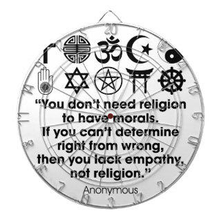 Religion Morals Dartboard