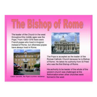 Religion, Roman Catholic, Bishop of Rome Postcard
