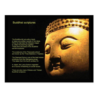 Religion,  Scriptures, Buddhist Scriptures Postcard