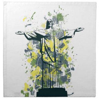 religion statue napkin