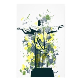 religion statue stationery paper