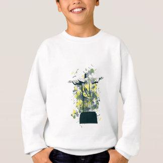 religion statue sweatshirt