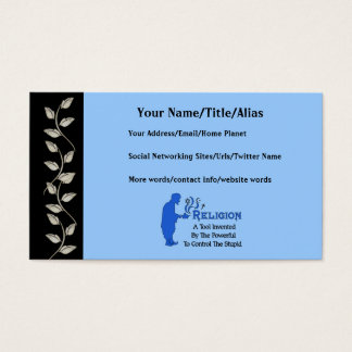 Religion Tool Business Card