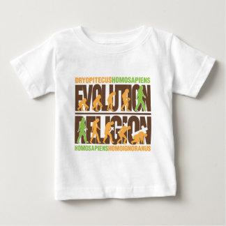 Religion Vs Evolution T Shirts