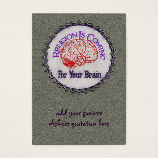 Religion Wants Your Brain Business Card