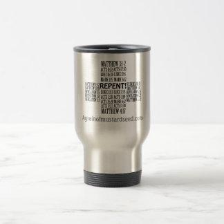 Religious 15 Oz Stainless Steel Travel Mug