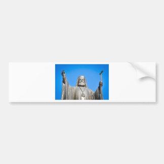 Religious architecture in Athens, Greece Bumper Sticker