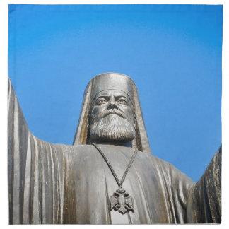 Religious architecture in Athens, Greece Napkin