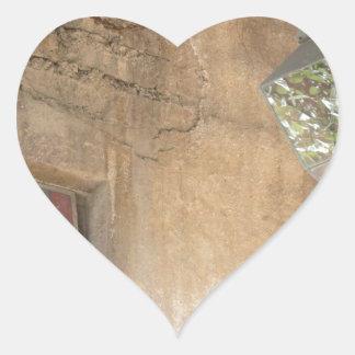 Religious Art Heart Stickers