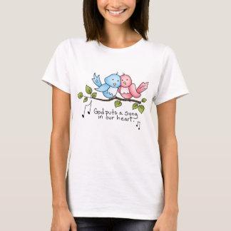 Religious Birdie t-shirt