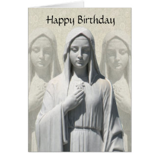 Religious Birthday Card for a Nun