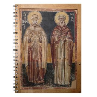 Religious Christian Art Notebook