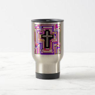 religious christian cross mug