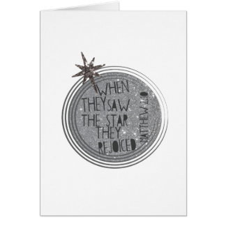 Religious Christmas Scripture Card