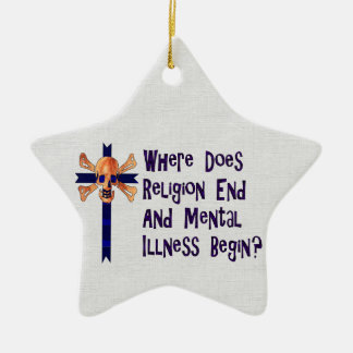 Religious Crazies Christmas Ornaments