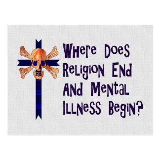 Religious Crazies Postcard