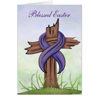 Religious Cross Card