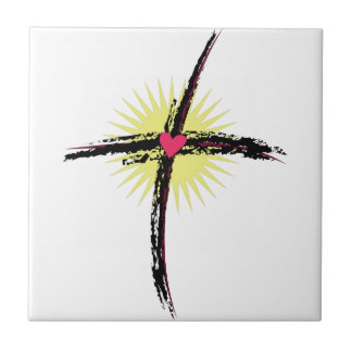 Religious Cross Tile