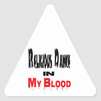Religious Dance In Blood Triangle Sticker