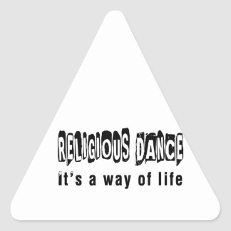 Religious Dance It s A Way Of Life Sticker