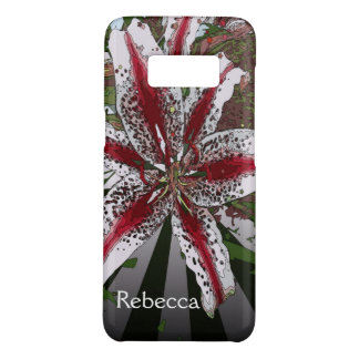 religious Easter Blessings pink oriental lily Case-Mate Samsung Galaxy S8 Case