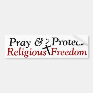 Religious Freedom Bumper Sticker
