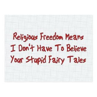 Religious Freedom Postcard
