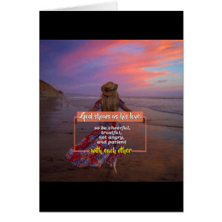 Religious Friendship Greeting Card