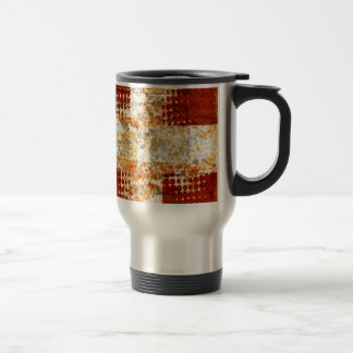 Religious halftone cross mugs