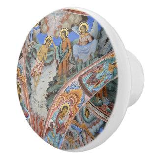 Religious Icon Dresser Knob